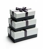Three giftboxes
