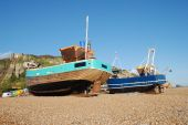 Fishing boat fleet, Hastings