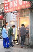 Street hawker in Beijing