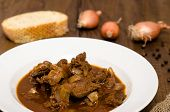 Goulash With Venison