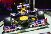 Red Bull Formula 1 Car At The Geneva Motor Show
