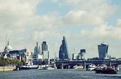 Thames and London City, Great Britain, Europe