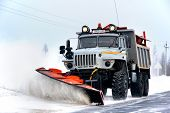 Ural Snow Removal Vehicle