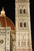 The Cathedral Of Santa Maria Del Fiore In The Night - Florence - Italy 683