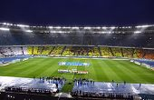 Panoramic View Of Olympic Stadium In Kyiv