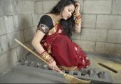 Traditional Indian Wife