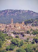 picture of chopin  - View of Valldemossa on Mallorca Balearic Islands Spain - JPG