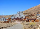 Abandoned Gold Processing Plant, Bodie Ghost Town, California