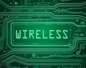 Wireless Concept.
