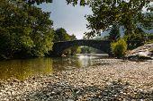 Grange Bridge Over River Derwent