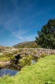 Watendlath Stone Footbridge Vertical