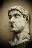 Head Of Emperor Constantine, Capitol, Rome