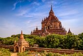 Temple In Bagan, Myanmar (burma)