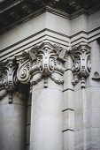 Corinthian capitals, Spanish city of Valencia, Mediterranean architecture