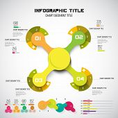 Infographic template, vector illustration