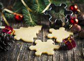 image of christmas cookie  - Baking Christmas Cookies - JPG