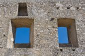 Castle of Morano Calabro. Calabria. Italy.
