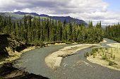 Wild river bend
