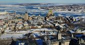 Quebec City in winter, Canada