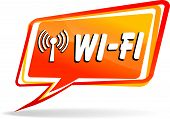 Wi-fi Speech Bubble