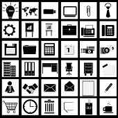 Vector of business & office icons, series 4