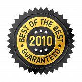 Best Of The Best label - vector