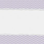 Purple And White Torn Chevron Frame Background