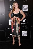 LOS ANGELES - OCT 8:  Chloe Grace Moretz at the 5th Annual PSLA Autumn Party at 3LABS on October 8, 2014 in Culver City, CA