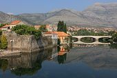 stock photo of former yugoslavia  - Beautiful und tranquil Trebinje City in former Yugoslavia - JPG