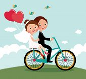 Newlyweds  Bike