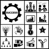 Vector of Business Success Concept