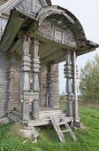 Porch Ancient Wooden Church