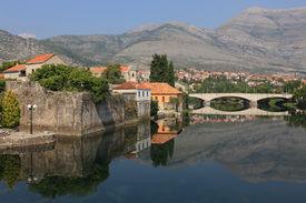 picture of former yugoslavia  - Beautiful und tranquil Trebinje City in former Yugoslavia - JPG