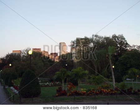 poster of Public Garden with City View