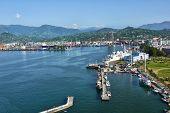 Georgia Batumi Harbor Seaport Black Sea Coast
