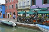 Italian Restaurant At Burano