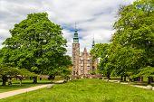 pic of copenhagen  - Rosenborg Castle Gardens in Copenhagen  - JPG