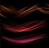 Smoke wave background. Vector illustration