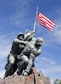 Washington Dc, Usa - Iwo Jima Statue
