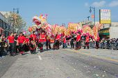 Chinese Dragon Performance