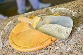Shovel With Wheaten Flour