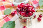 Preparation Products Processed Fresh Colorful Summer Fruits Jars