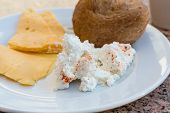 Ricotta And Yellow Cheeses