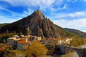 Sisteron. France.Provence-Alpes-Cote.