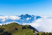 Pilatus Above The Sea Of Clouds