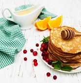 Pancakes With Cranberries