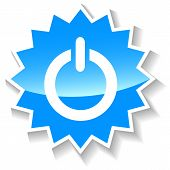 Power blue icon