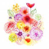 image of floral bouquet  - Floral bouquet - JPG