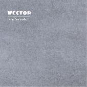 Vector Gray Watercolor Background