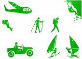 Sport Adventure Symbol Icon